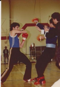 Winning a full contact kung fu match in Vancouver, Canada